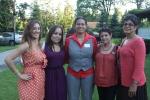 Bianca Torres, Melissa Rivera, Francena Amparo, Valerie Vlado, Wanda Amparo