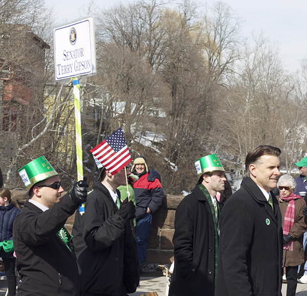 Senator Gibson at the Dutchess County St. Patrick's Parade  Photo Credit: Travis Jones, Vifthave Photography